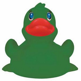 Customized Rubber Green Duck