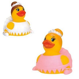 Customized Rubber Ballerina Duck