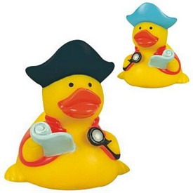 Promotional Rubber Pirate Navigator Duck