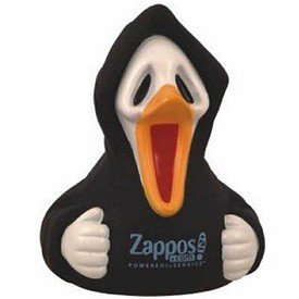Custom Rubber Spooky Halloween Duck