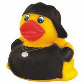 Customized Rubber Hip Hop Duck