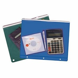 Promotional Vinyl 3 Ring Binder Bag W-Slide Zipper