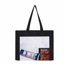 Promotional Clear Over The Shoulder Tote Bag