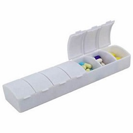 Promotional Seven Day Pill Box