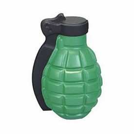 Custom Hand Grenade Stress Reliever