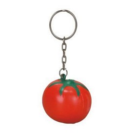 Custom Tomato Stress Reliever Key Chain