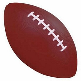 Customized 8-1-2 Inch Football Stress Reliever