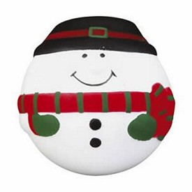 Promotional Snowman Stress Ball
