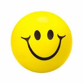 Promotional Smiley Face Stress Ball