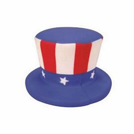 Customized Uncle Sam Hat Stress Reliever