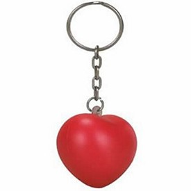 Customized Valentine Heart Stress Reliever Key Chain