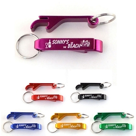 Promotional Bottle Can Opener Metal Key Chain