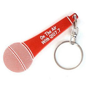 Promotional Microphone Key Chain