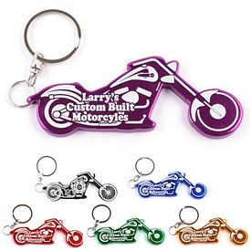 Promotional Motorcycle Chopper Bottle Opener Key Chain