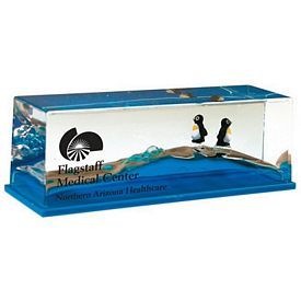 Promotional Penguin Wave Paperweight