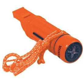 Customized Orange Safety Survival Tube Whistle
