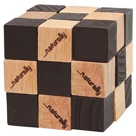 Customized Wooden Elastic Cube Puzzle