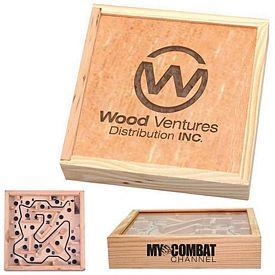 Promotional Wooden Maze Puzzle