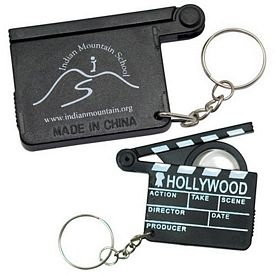Promotional Hollywood Magnifying Glass Keyring