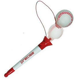 Customized Pop Top Baseball Pen