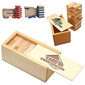 Customized Wooden Tower Puzzle