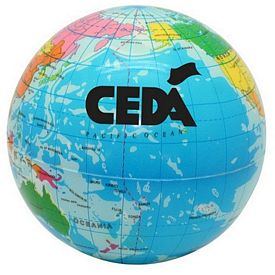Promotional Ultra Detail Globe World Stressball
