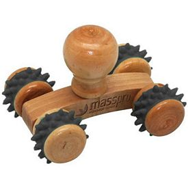 Promotional Small Wooden Knob Massager