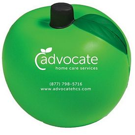 Promotional Green Apple Squeezie Stress Reliever