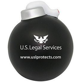 Promotional Bomb Squeezie Stress Reliever