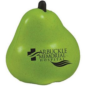 Customized Pear Squeezie Stress Reliever