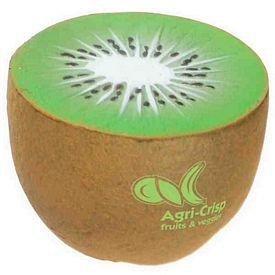 Customized Kiwi Squeezie Stress Reliever