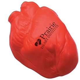 Customized Realistic Anatomic Heart Squeezie Stress Reliever