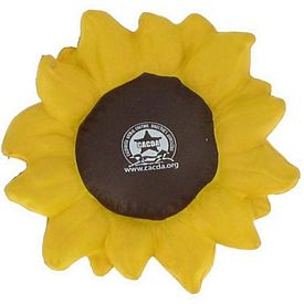 Customized Sunflower Squeezie Stress Reliever