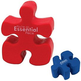 Customized Puzzle Piece Squeezie Stress Reliever