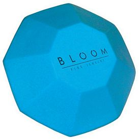 Promotional Blue Gemstone Squeezie Stress Reliever
