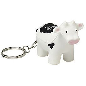 Customized Cow Squeezie Keyring
