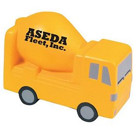Promotional Cement Mixer Squeezie Stress Reliever