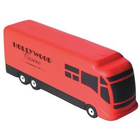 Customized Motor Coach Squeezie Stress Reliever