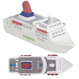 Customized Cruise Ship Squeezie Stress Reliever