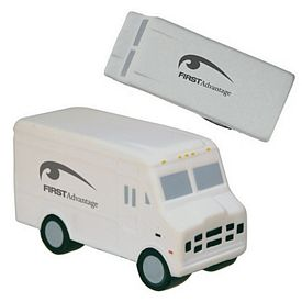 Promotional Step Van Squeezie Stress Reliever
