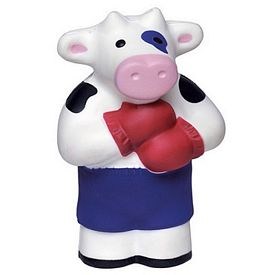 Promotional Boxing Cow Squeezie Stress Reliever