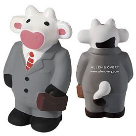 Promotional Business Cow Squeezie Stress Reliever