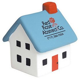 Promotional House Squeezie Stress Reliever