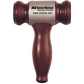 Promotional Gavel Squeezie Stress Reliever