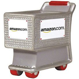 Customized Shopping Cart Squeezie Stress Reliever