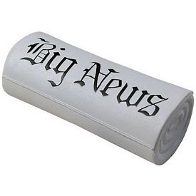 Customized Newspaper Squeezie Stress Reliever