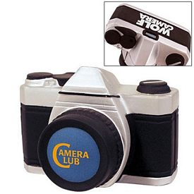 Promotional Camera Squeezie Stress Reliever
