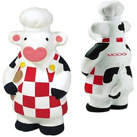 Promotional What's Cookin' Cow Squeezie Stress Reliever