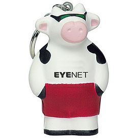Customized Cool Beach Cow Squeezie Keyring
