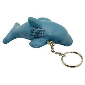 Promotional Dolphin Squeezie Keyring